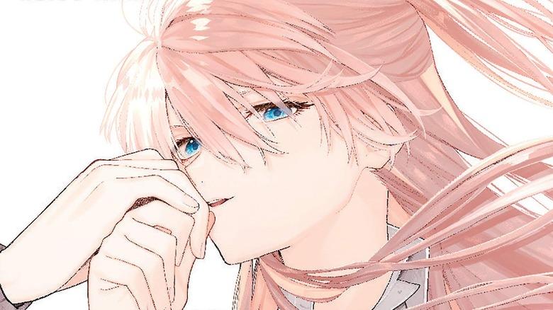 Shikimori from manga cover