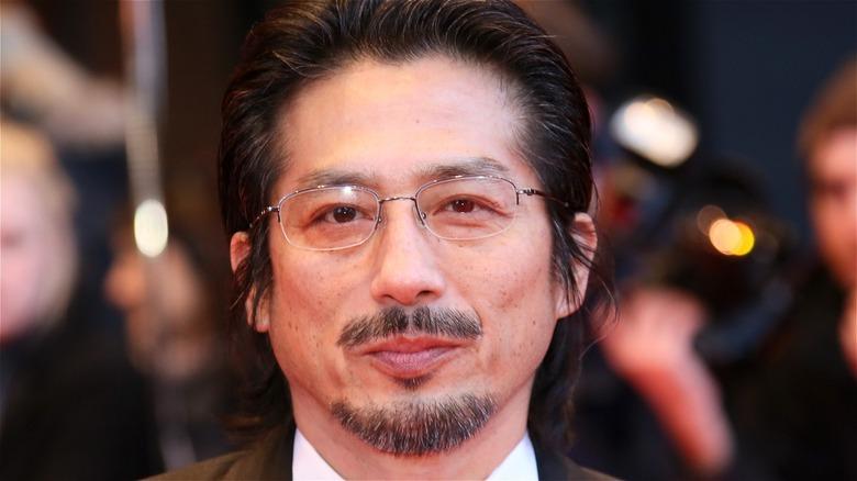 Hiroyuki Sanada posing