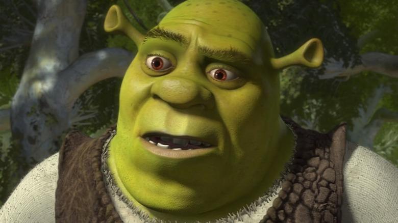 Shrek unamused