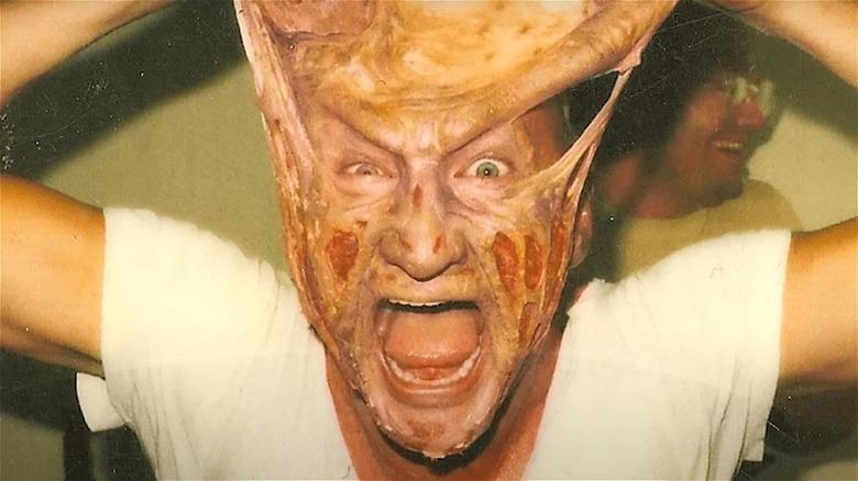 Freddy Krueger losing face