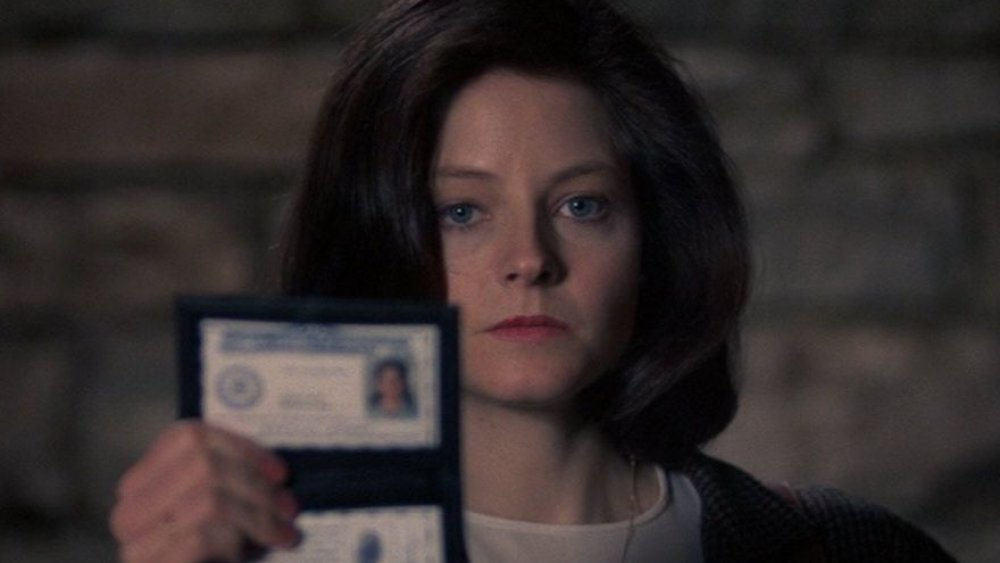 Jodie Foster as Clarice Starling in The Silence of the Lambs