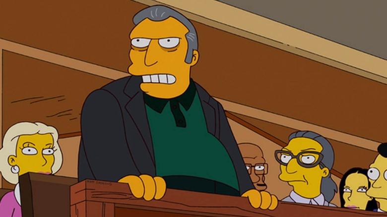 Fat Tony, voiced by Joe Mantegna on The Simpsons