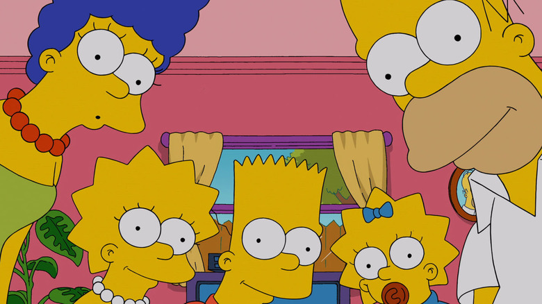 Simpsons costume characters