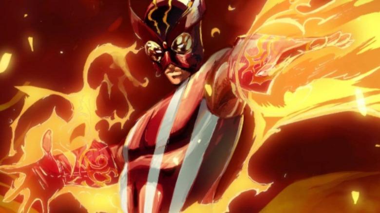 Marvel's Sunfire, a Japanese mutant and former X-Men member