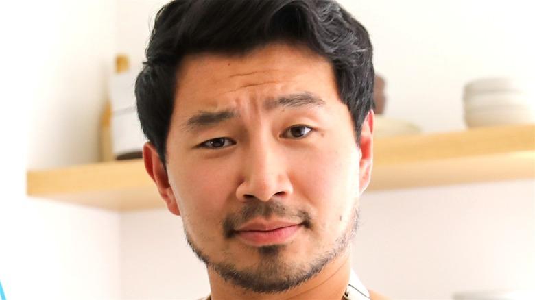 Simu Liu with beard