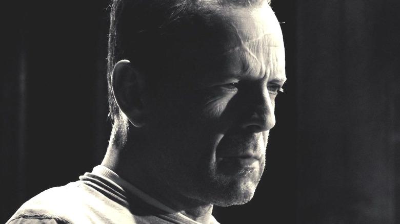 John Hartigan scowling
