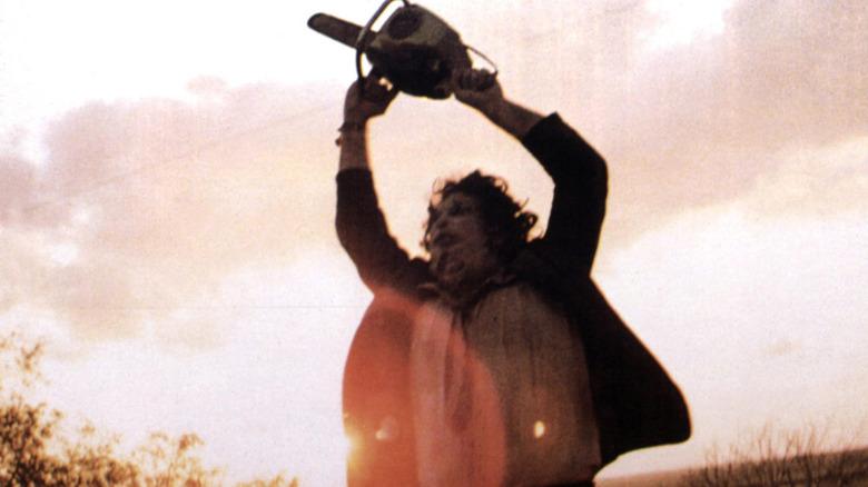 Gunnar Hansen as Leatherface in The Texas Chain Saw Massacre