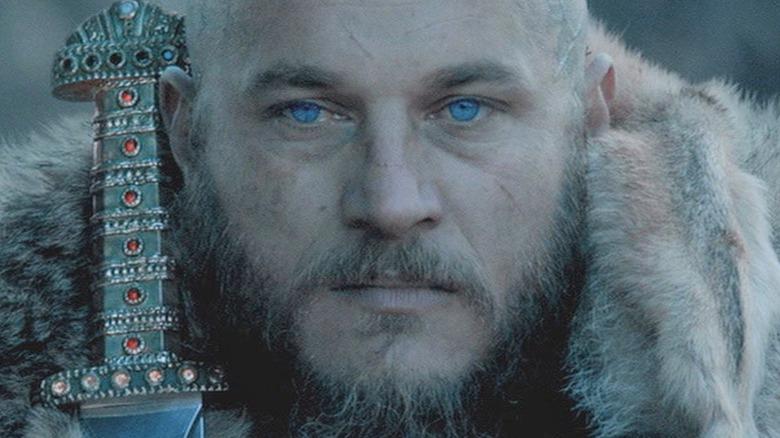 Ragnar holding sword