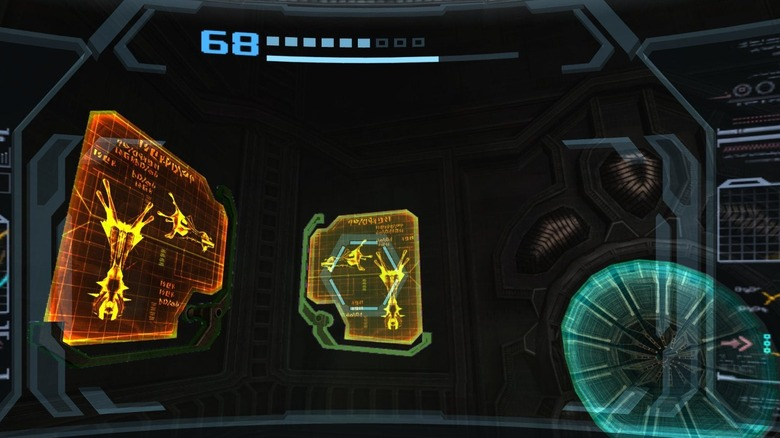 scan in metroid prime 3 corruption mentioning dread