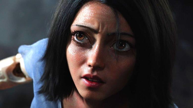 Alita in close-up