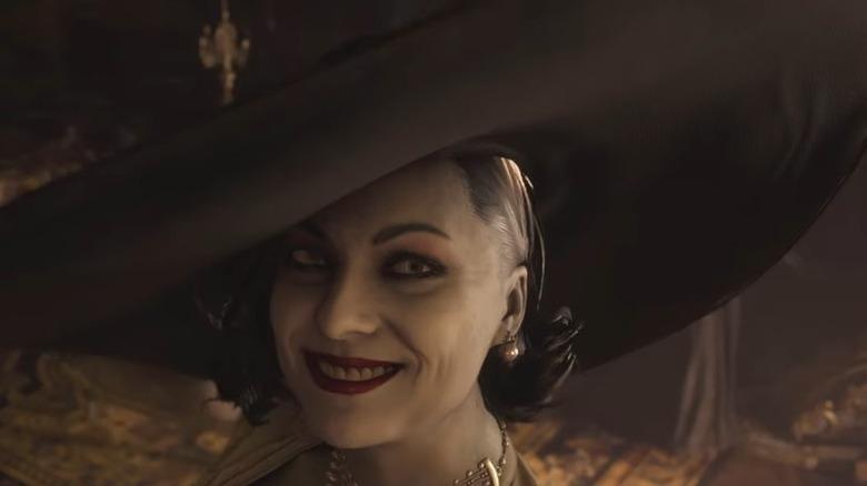 Lady Dimitrescu smile