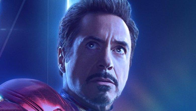 Robert Downey Jr as Tony Stark/Iron Man in Avengers Infinity War