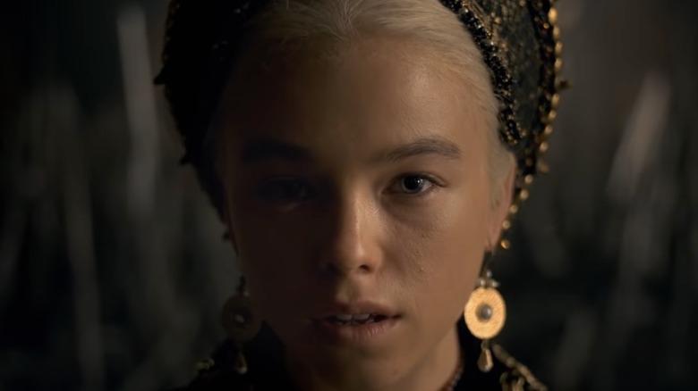 Targaryen princess staring