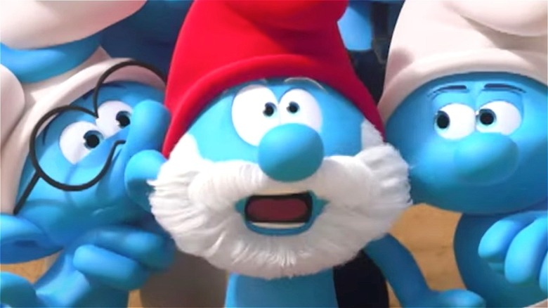 Papa Smurf in Nickelodeon's 'The Smurfs' reboot