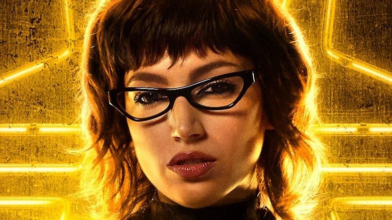 Baroness Snake Eyes poster