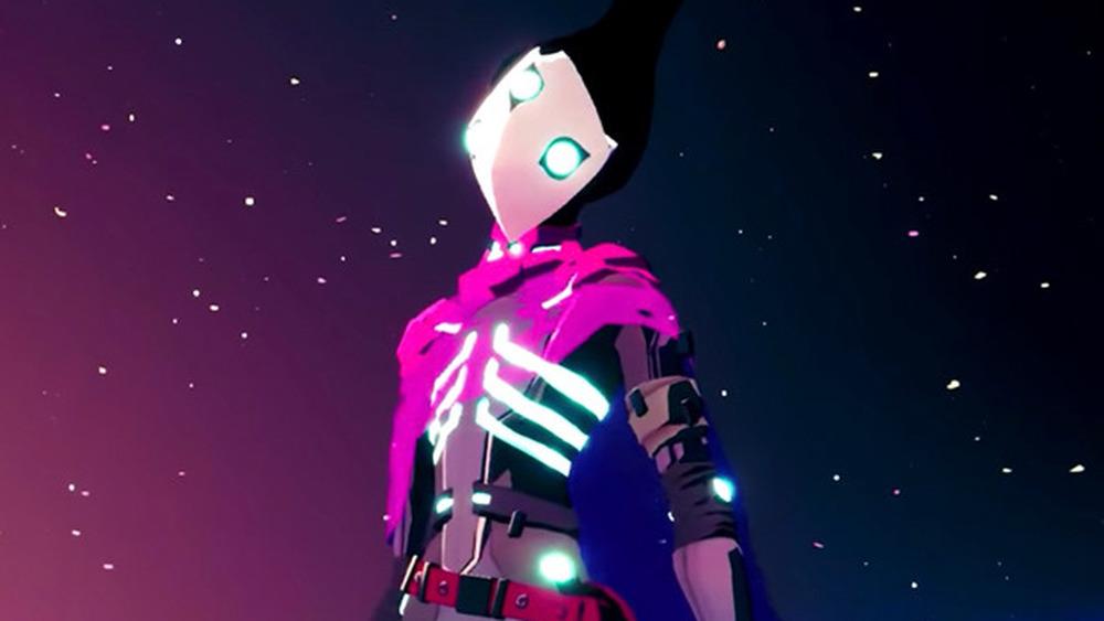 Solar Ash player character