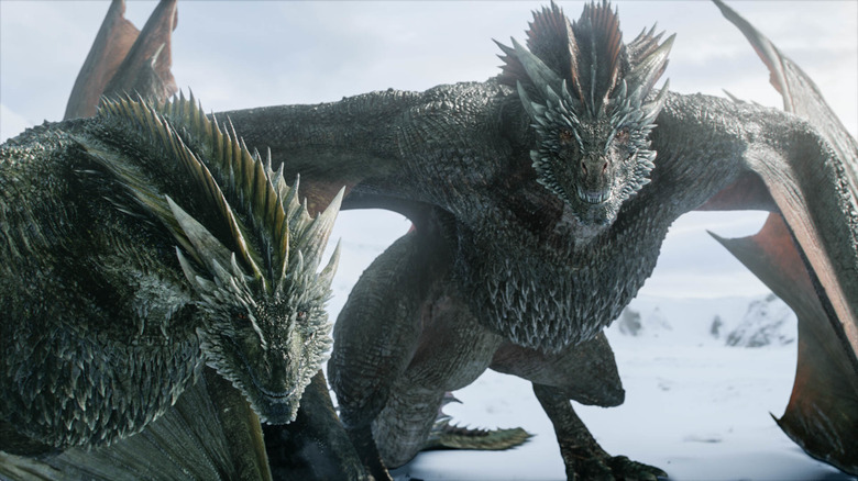 The dragons were a highly-anticipated addition to Game of Thrones