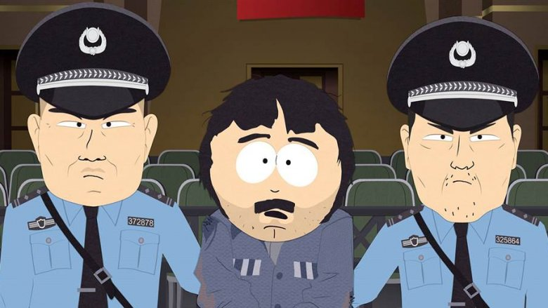 South Park Band in China episode