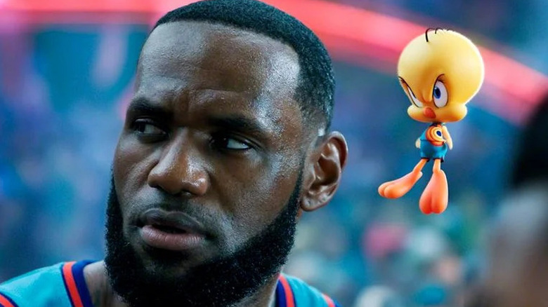 """LeBron James in """"Space Jam: A New Legacy"""""""