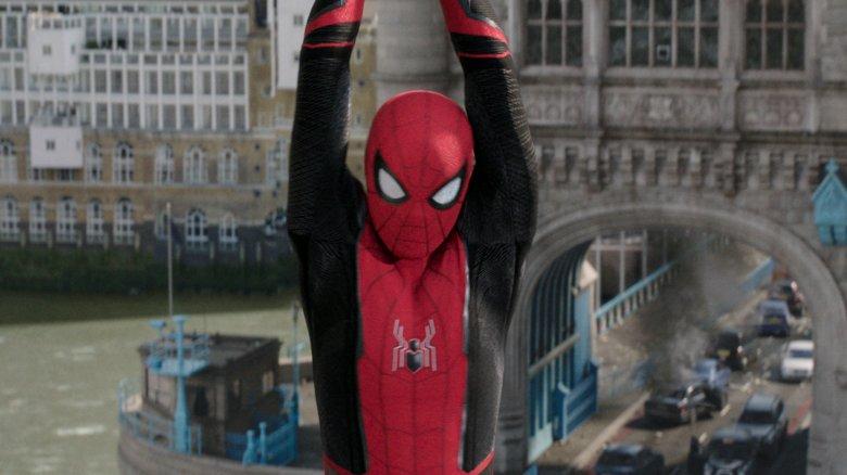 Spider-Man Far From Home London bridge