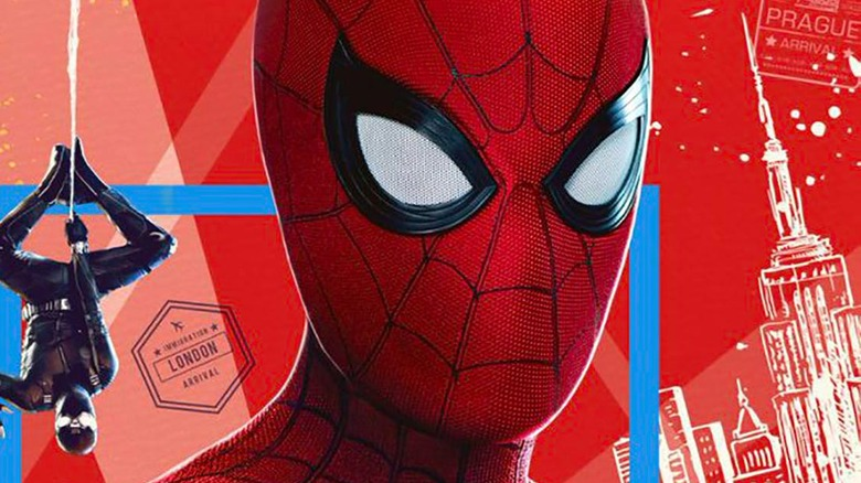 Spider-Man Far From Home IMAX poster