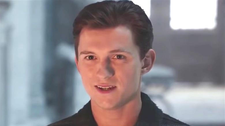 Peter Parker nervous talking