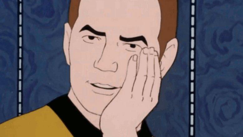 Kirk Star Trek animated series