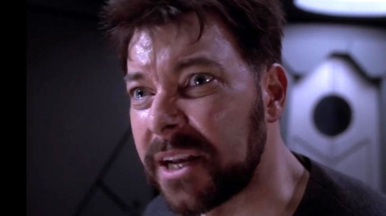 Riker in Frame of Mind.