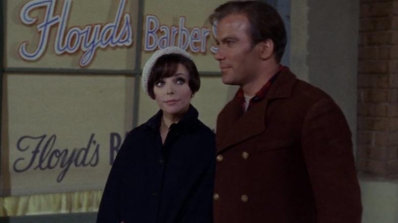Kirk and Edith Keller walking