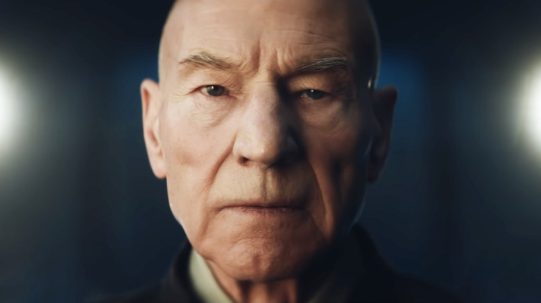 Patrick Steward as Picard