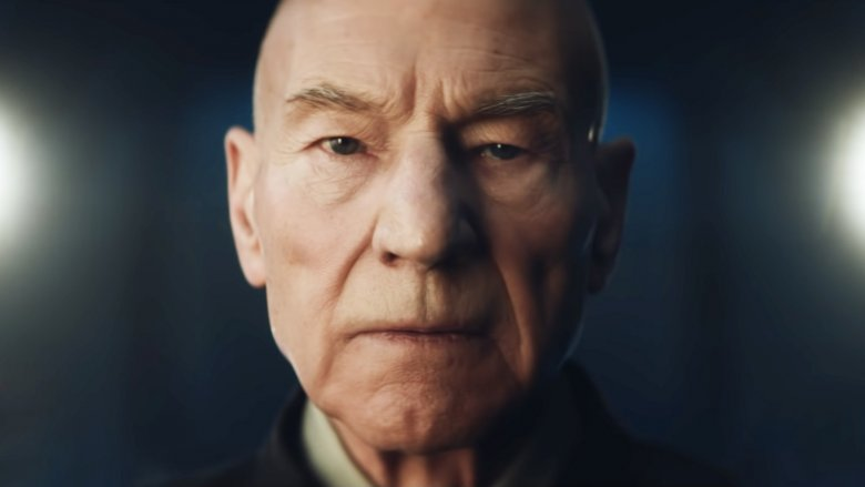 Patrick Stewart in Star Trek: Picard trailer