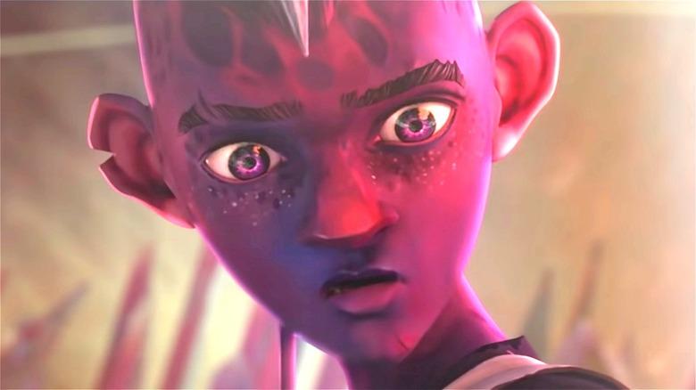 purple alien from Star Trek: Prodigy