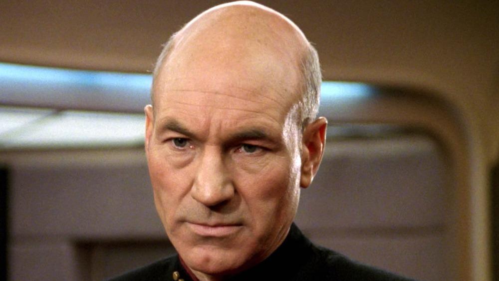 Picard staring