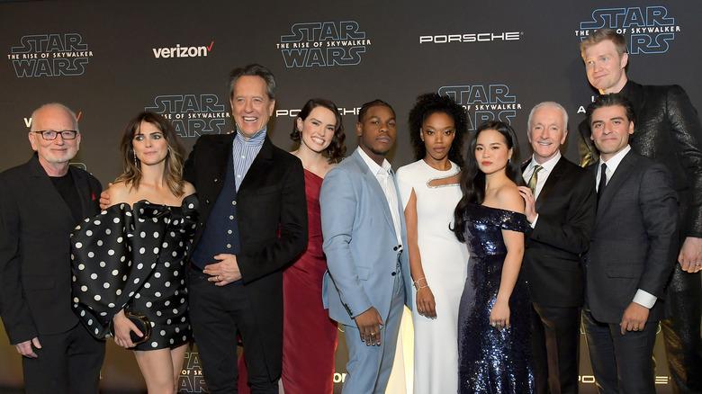 The Star Wars: Rise of Skywalker cast