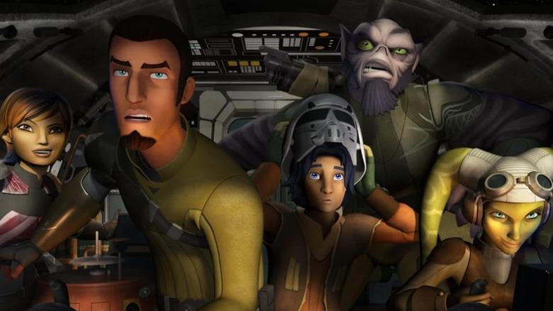 The Star Wars Rebels cast