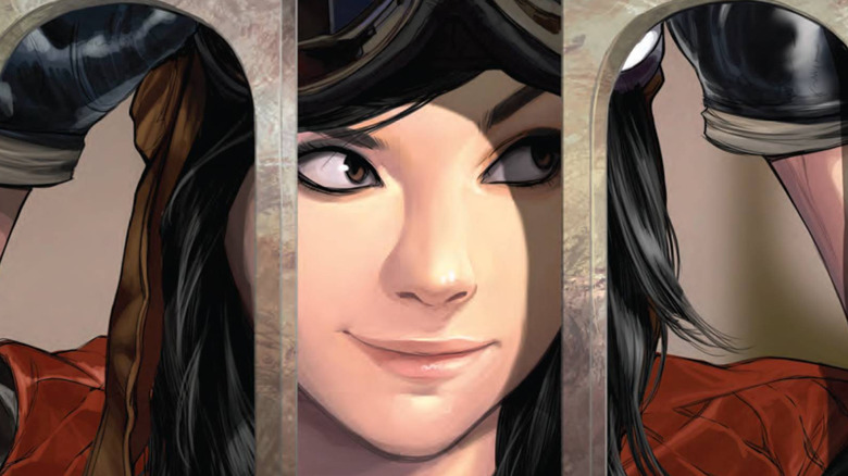 Doctor Aphra smiling mischievously