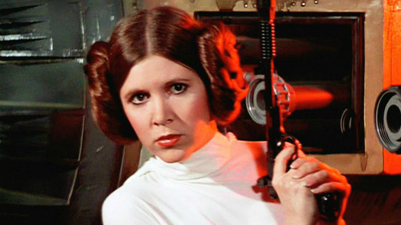 Carrie Fisher in Star Wars: A New Hope