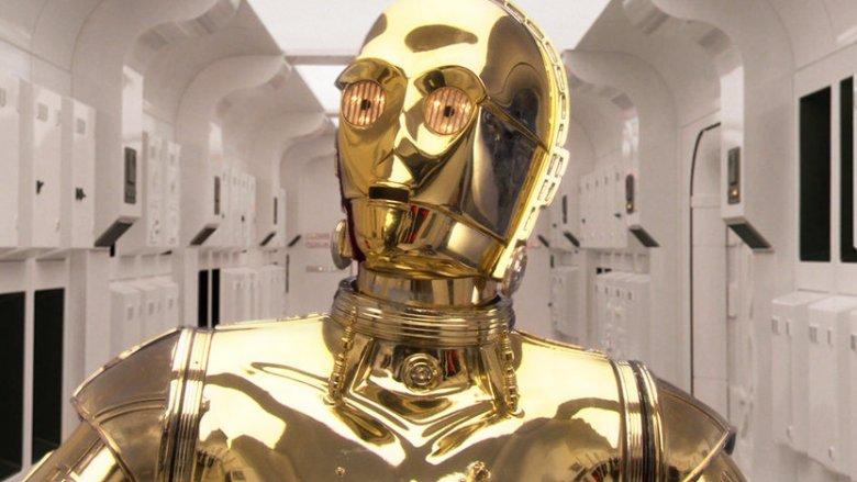Anthony Daniels C-3PO Star Wars