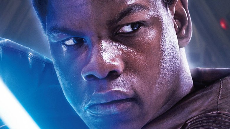 John Boyega as Finn in Star Wars: Episode VII — The Force Awakens