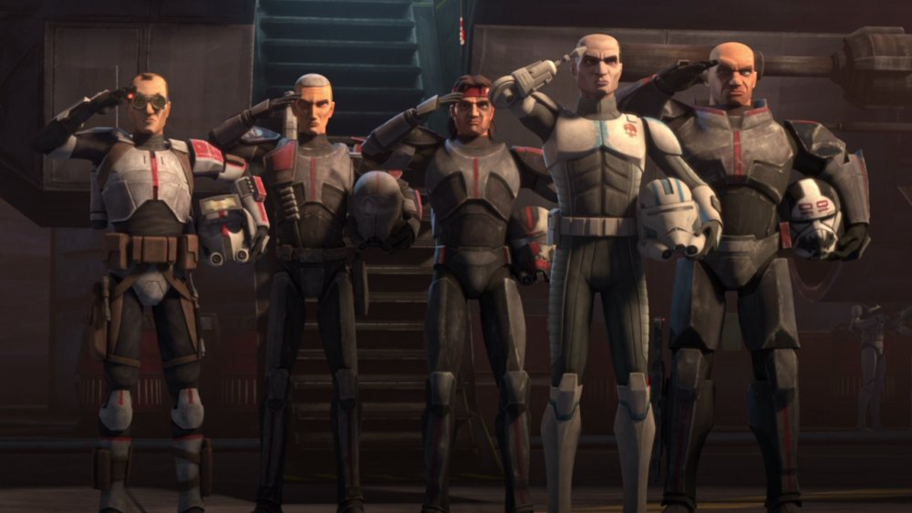 Echo and the Bad Batch, as seen on Star Wars: The Clone Wars