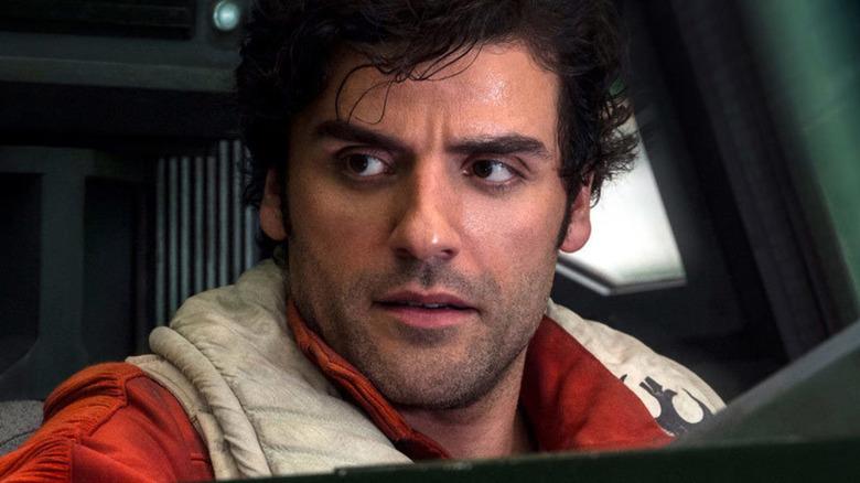 Oscar Isaac as Poe Dameron in Star Wars: The Force Awakens