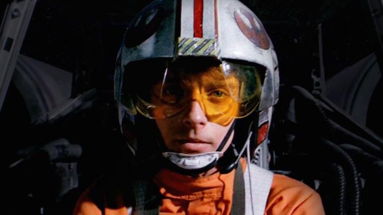 Luke piloting X-Wing