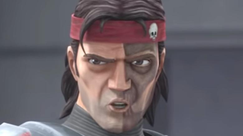 Hunter in Star Wars: The Bad Batch