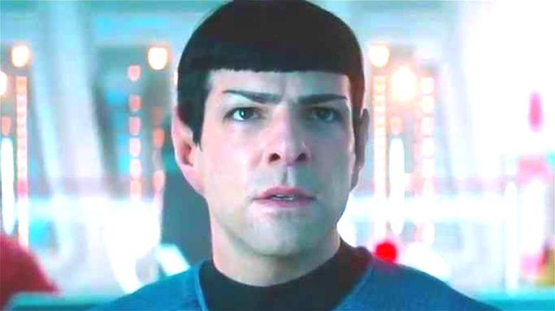 Spock on the Enterprise