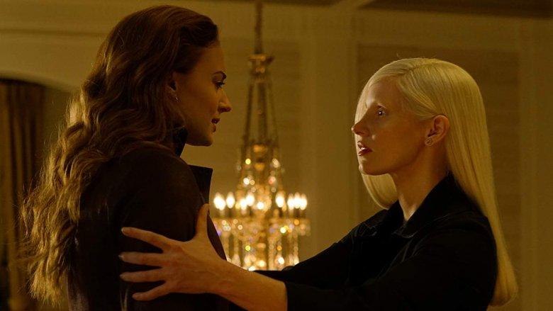 Jessica Chastain and Sophie Turner in Dark Phoenix (2019)