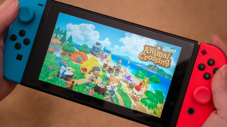 Animal Crossing on switch