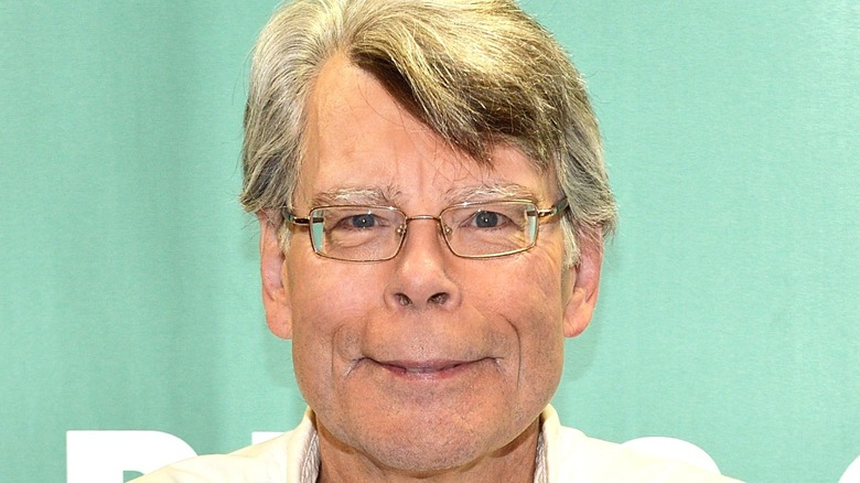 Stephen King Smiling Appearence