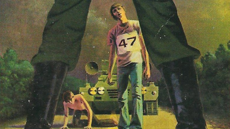 Signet cover of The Long Walk by Stephen King (as Richard Bachman)
