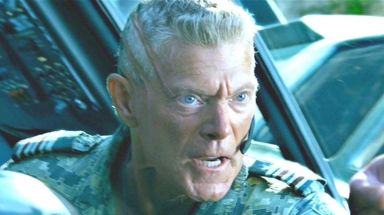 Colonel Quaritch Avatar angry