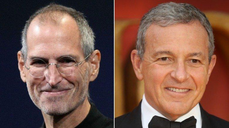 Steve Jobs / Bob Iger